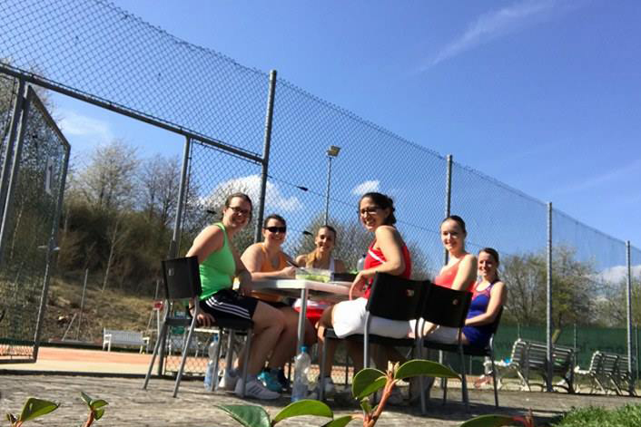 Damen - Tennisabteilung Des TUS Gutenberg