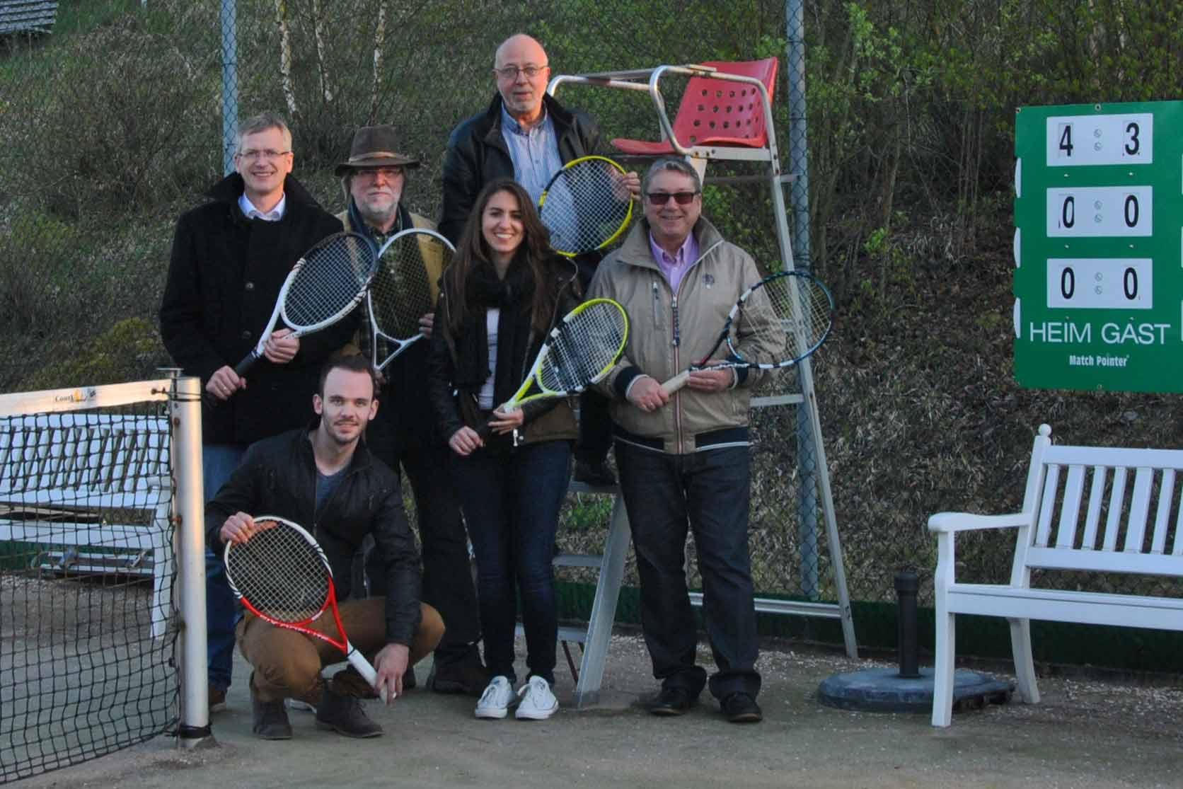 Tennisvorstand - Tennisabteilung des TUS Gutenberg