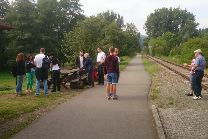 Draisinenfahrt - Tennisabteilung des TUS Gutenberg