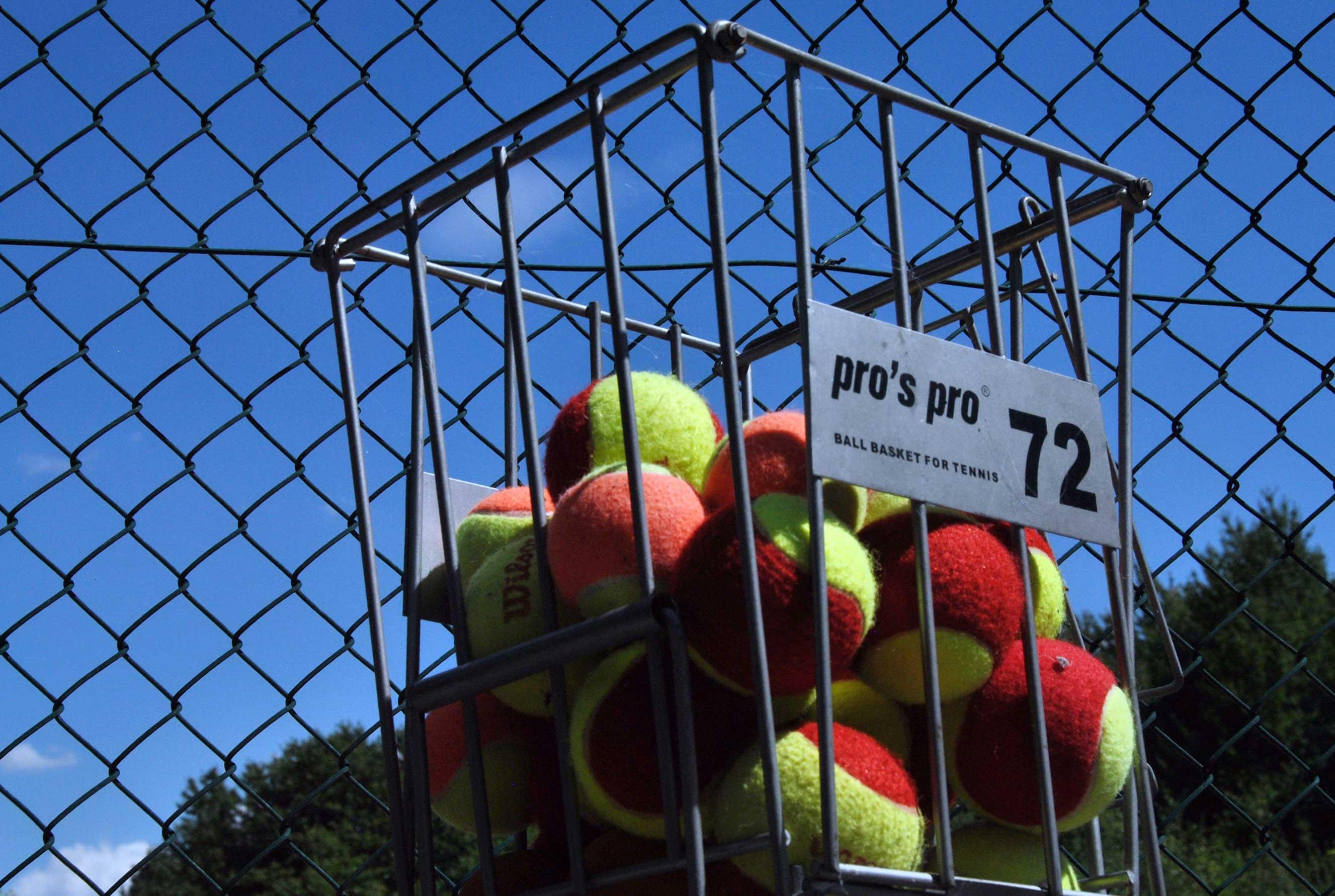 Trainingsbälle - Tennisabteilung des TUS Gutenberg
