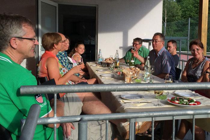 Sommerfest - Tennisabteilung des TUS Gutenberg