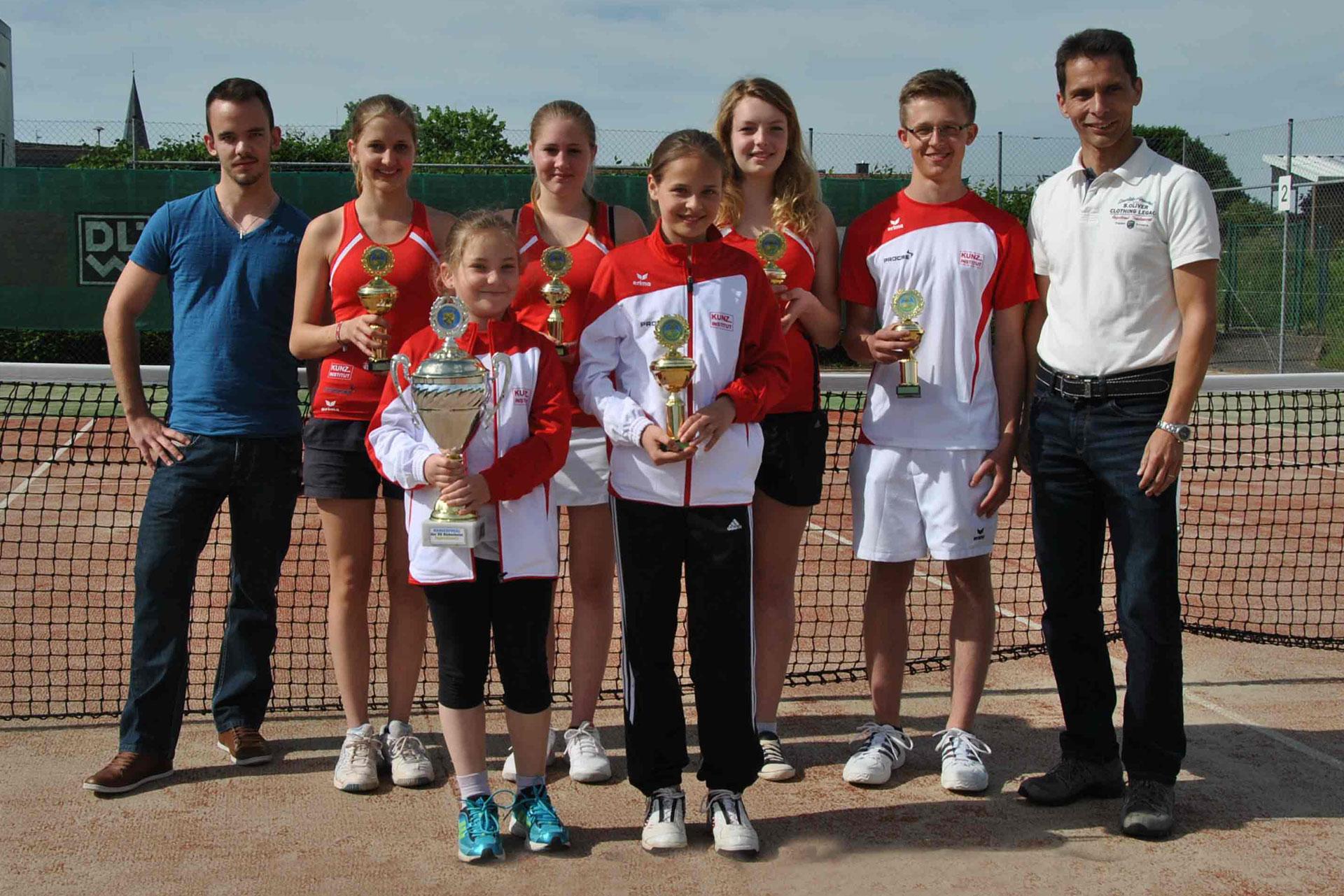 Bambini - Tennisabteilung des TUS Gutenberg