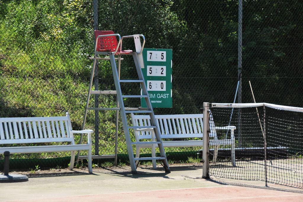 Tennisplatz - Tennisabteilung des TUS Gutenberg