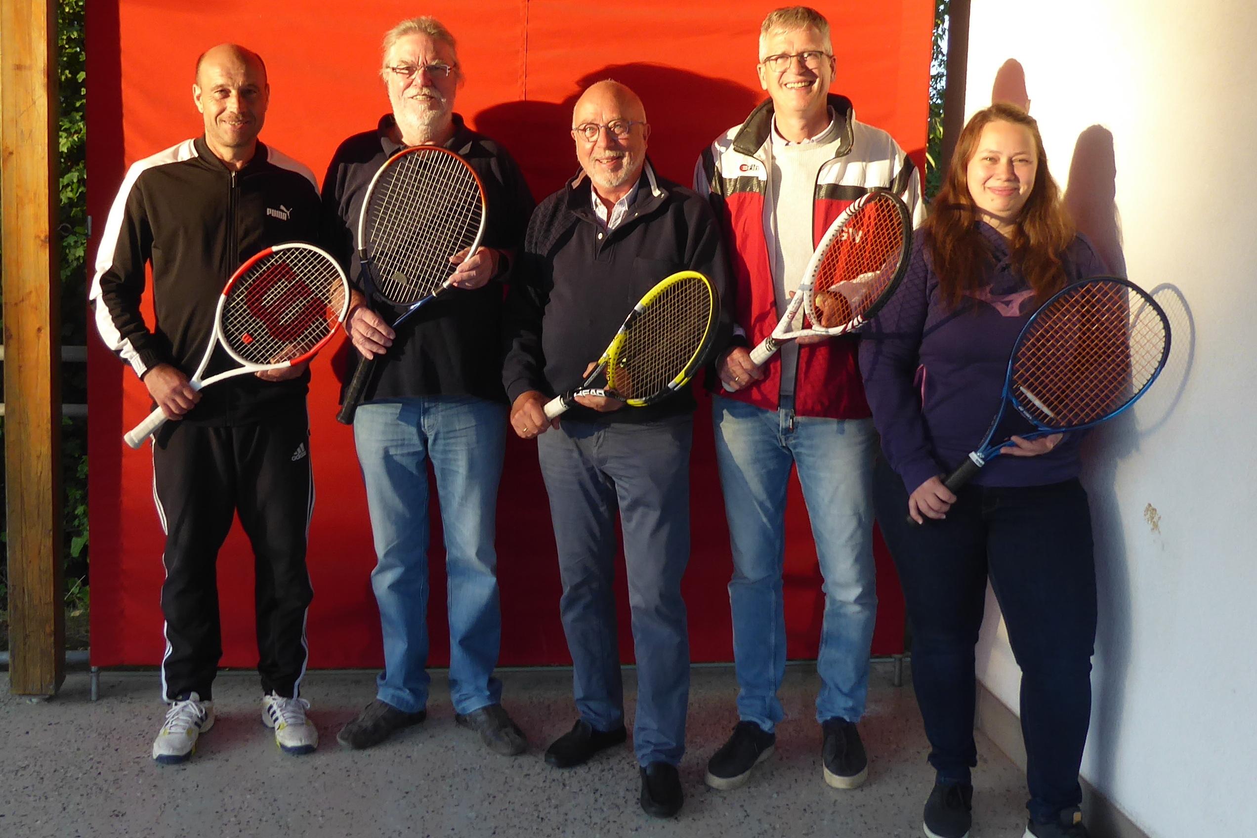 Tennisvorstand 2021